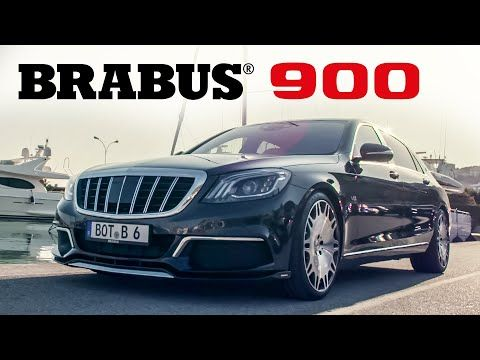 Brabus 900 Based On Maybach S 650 Cinematic 1 Youtube With