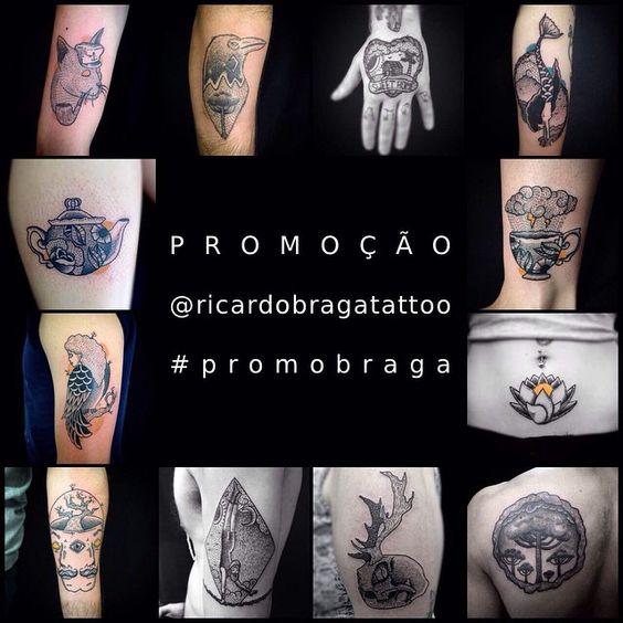 Lembra do #tattoofriday que entrevistamos @ricardobragatattoo? Pois ele está fazendo uma promo e você pode GANHAR uma tatuagem do artista no valor de R$ 500,00!  Siga o seu perfil @ricardobragatattoo no Instagram, escolha algum trabalho e reposte com a hashtag #promobraga, o sorteio vai rolar dia 13/03 SEXTA FEIRA! Boa sorte! #tattoo #tatuagem #rodrigobragatattoo  Obs: O perfil do Instagram deve ser público.  É importante ter disponibilidade para ir até o estúdio tatuar, e ser maior de 18…