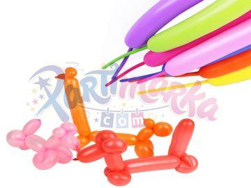 Sosis Balon Şekil Yapılabilen Parti Balonu