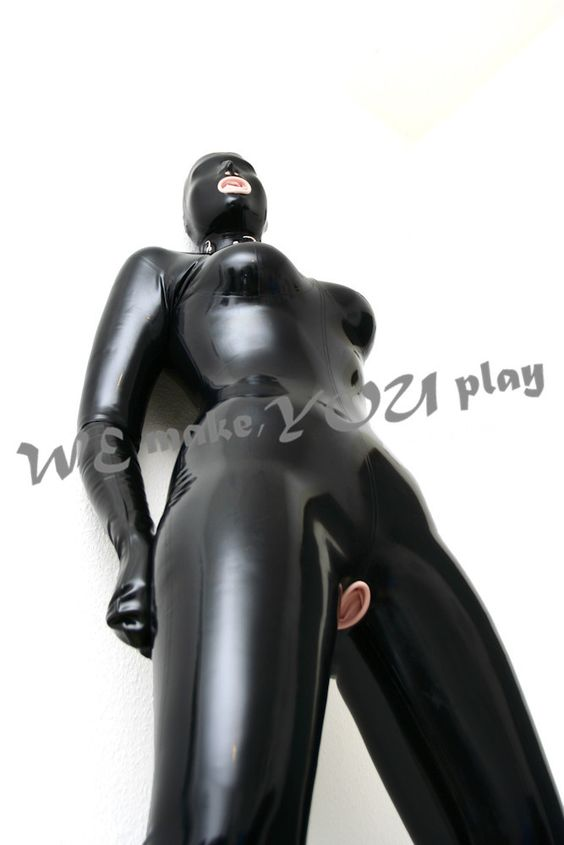 Traje vaginal Zentai traje