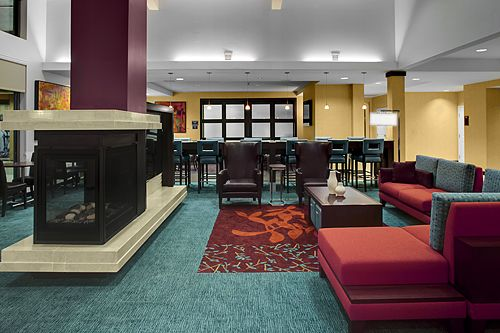 Very Modern Lobby!