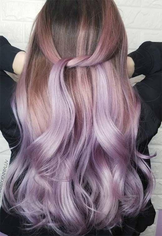 55 Ideas For Dreamy Purple Hair Colors Tips For Purple Hair Dye
