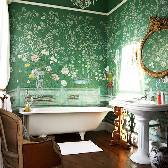 de Gournay wallpaper: