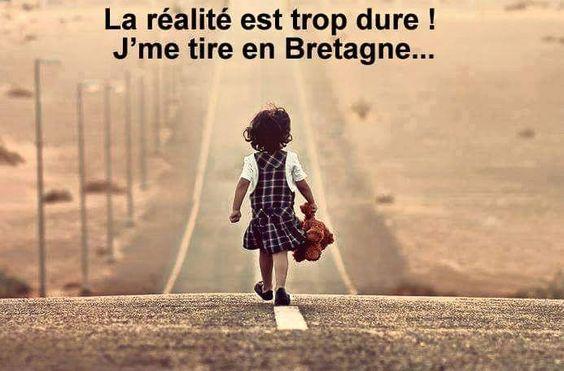 J'me tire en Bretagne...