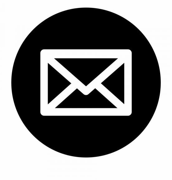 16 Email Icon Png Black And White Gambar Realistis Ikon Aplikasi Gambar