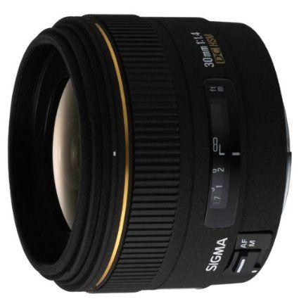 Amazon.co.jp: シグマ 30mm F1.4 EX DC デジタル専用 HSM キヤノン用: カメラ・ビデオ
