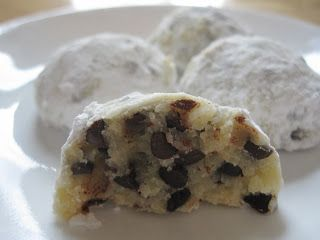 Chocolate Chip Snowballs: