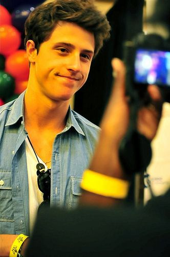 "Shane Harper ""Everytime I look at you, the angels sing, I hope you hear them too."""