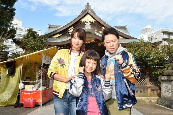 ドラマ『下剋上受験』のキャストさんと写る阿部サダヲ