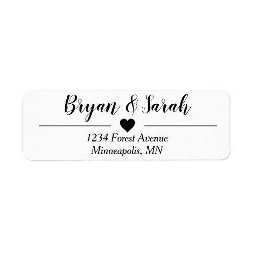 Pin On Wedding Address Label
