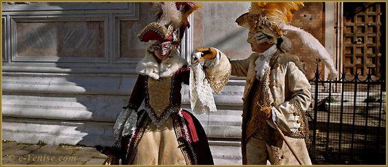 Carnaval de Venise 2013 : Marquis et Plumes du Carnaval.