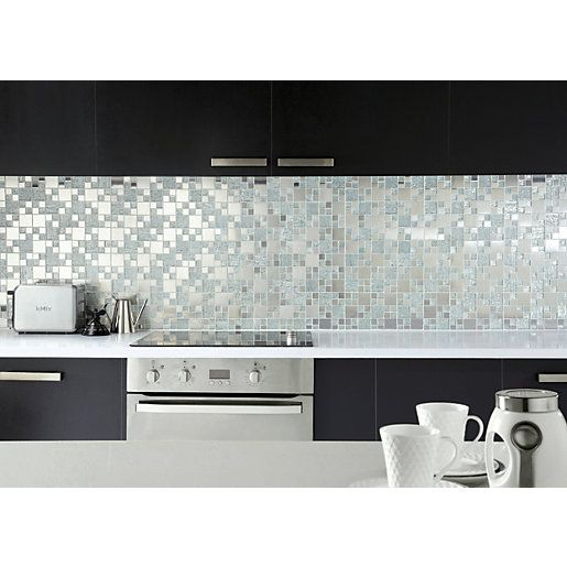 300 X 300mm Wickes Co Uk Mosaic Tile Kitchen Luxury Tile Kitchen Remodel Small