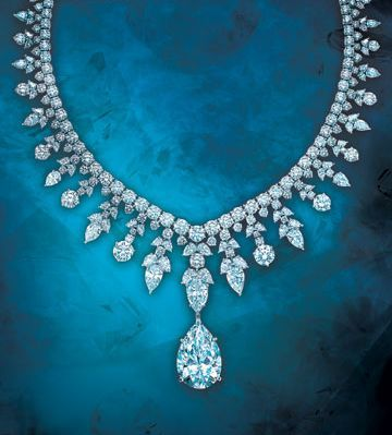 Tiffany Majestic Necklace Round And Oval Shaped Diamonds