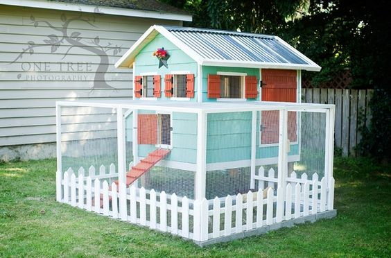 Cute Chicken Coop...  I will make this today - I love the simple explination of how it was done here and in previous blogs. by anastasiac21