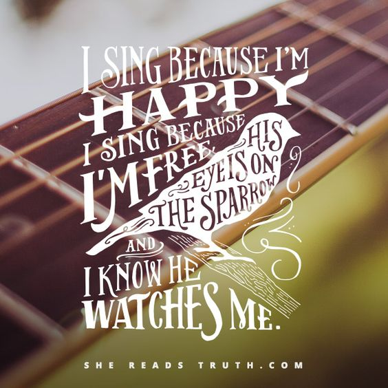 His Eye Is On The Sparrow - #SheReadsTruth | #SheReadsTruth: