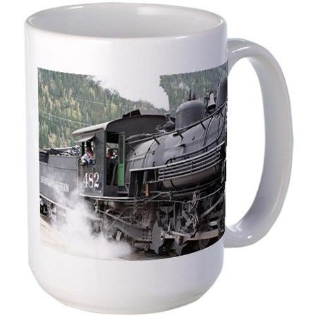 Steam engine: Colorado 3 Coffee Mug on CafePress.com