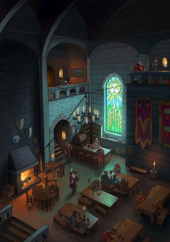 Fantasy Tavern - Color
