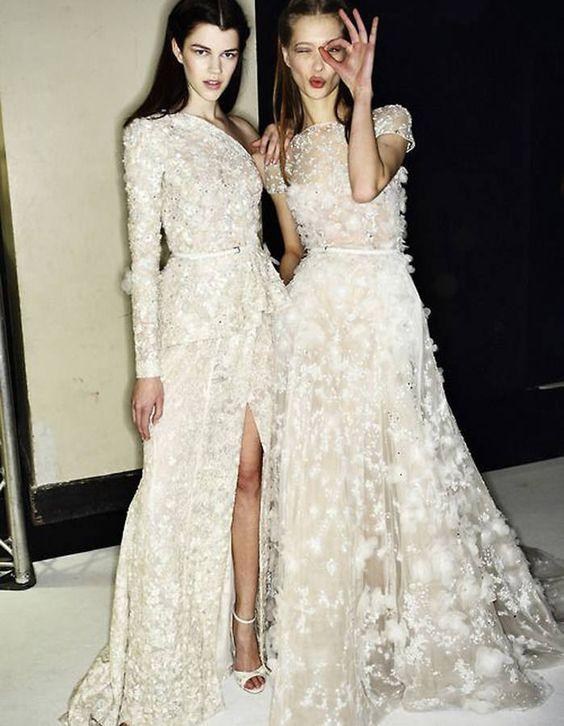 Robe de mariée haute couture Elie Saab