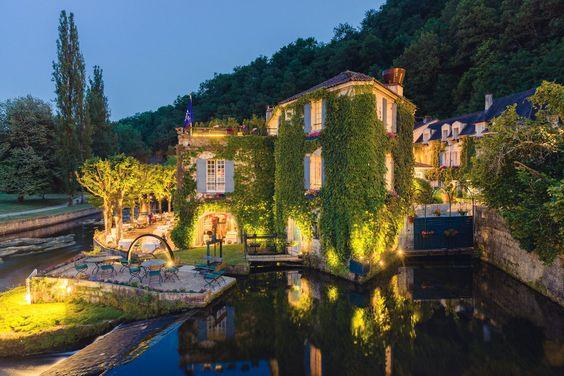 Moulin de l'Abbaye, Périgord vert, Aquitaine, France
