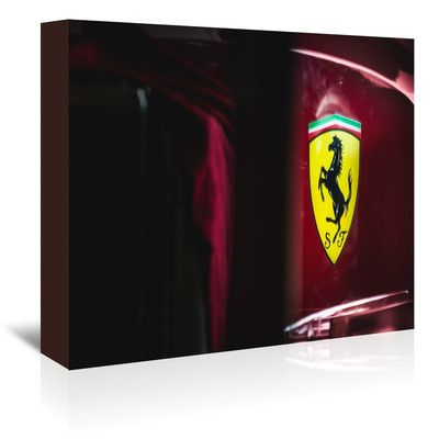 East Urban Home Ferrari Racing Days Photographic Print on Wrapped Canvas Size: