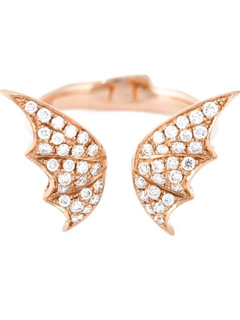 Shop Stephen Webster bat wings diamond ring in Jewellery Atelier from the world's best independent boutiques at farfetch.com. Shop 400 boutiques at one address.
