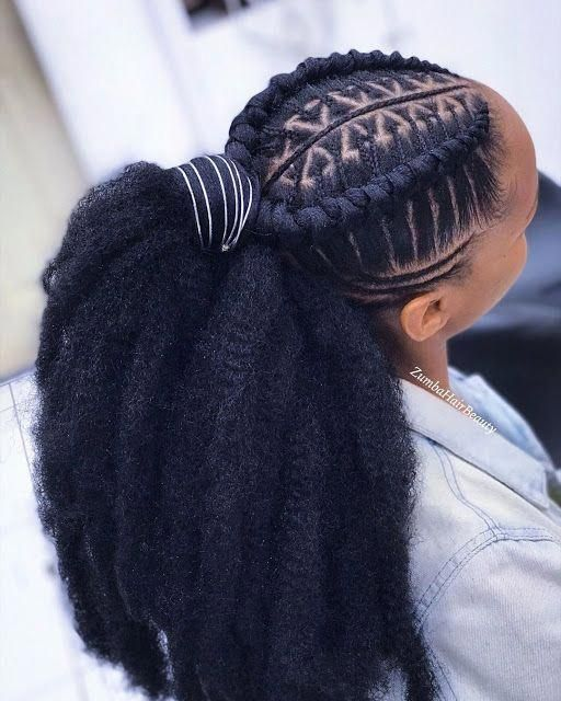 2019 Tending Braids Hairstyles To Spice Up Your Look Like A Queen Braids Hairstyles Queen Spi Coiffure Tresse Jolie Coiffure Chignon Sur Cheveux Naturels