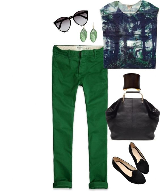 """Green day"" by eleahs on Polyvore"