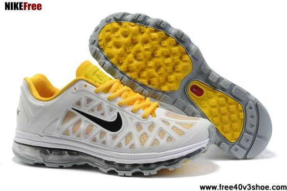 New Mens Nike Air Max 2011 Platnum Anthrct Lemon Frost White Sneakers Sports Shoes Store