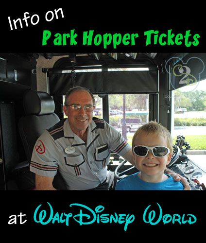 Info on if your family needs Park Hopper Tickets at Disney World!
