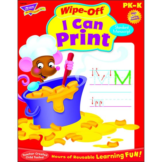 I CAN PRINT Z-B 28PG WIPE-OFF BOOKS