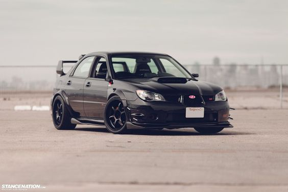 Wide Fast Subaru STI Bay Area (18) can rock the four door clean like!