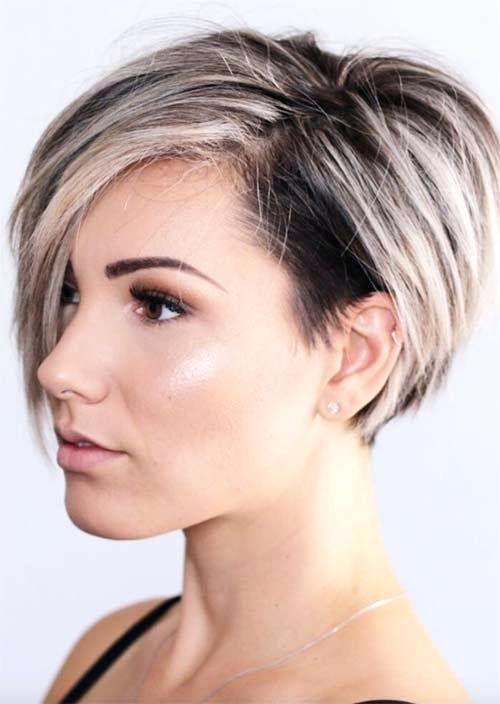 Undercut Bob Hairstyle Short Undercut Hairstyles For Women Undercuts For Women Short Hair Undercut Hair Styles Short Hair Styles