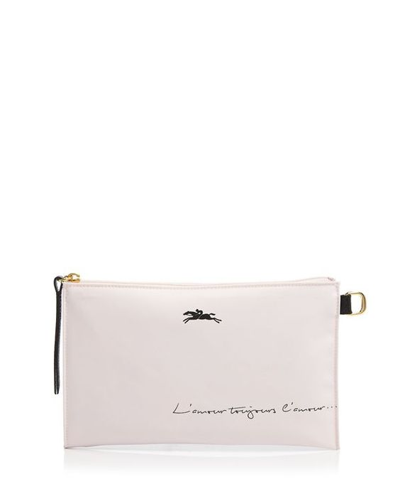 Longchamp Le Pliage St. Valentine Cosmetic Case | bag | Pinterest ...