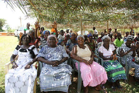 Happy Village Women by CC Chapman, via Flickr. Ghana.