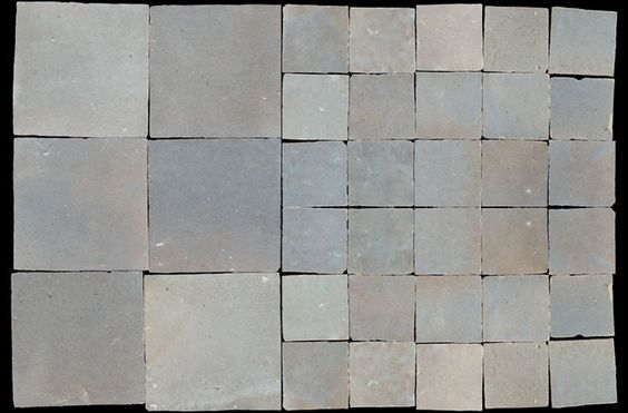 Zelliges maroccan tiles in color 12 by emery cie for Emery cie carrelage