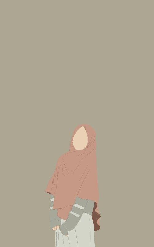 Gambar Wanita Muslimah Tanpa Wajah