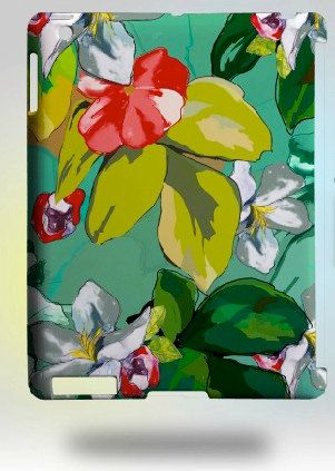 FINALLY AVAILABLE!! IPad Case Cover/ 344 Floral by ekalina on Etsy, $60.00