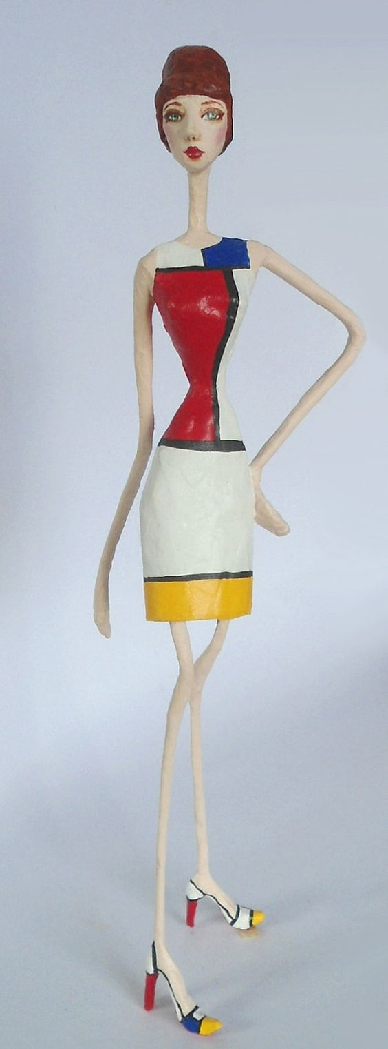 how to make large paper mache figures