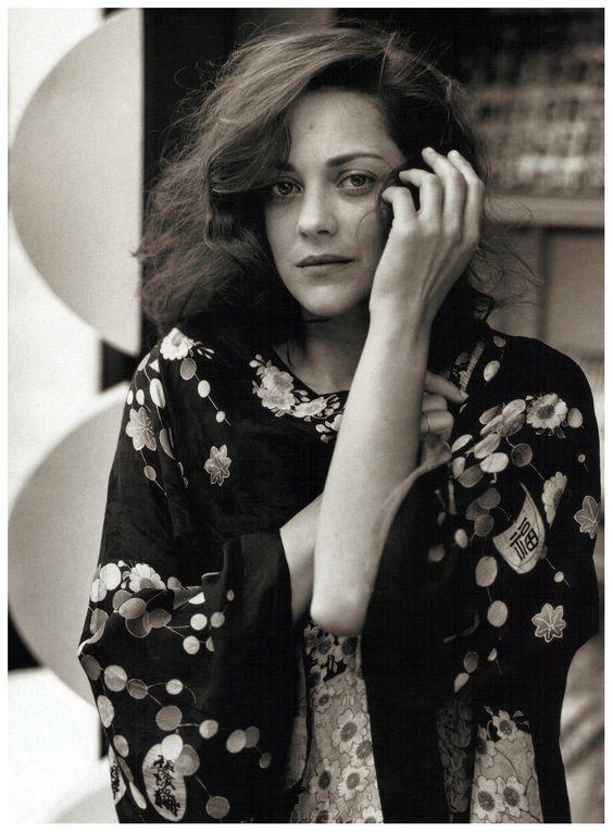 Marion Cotillard by Bruce Weber