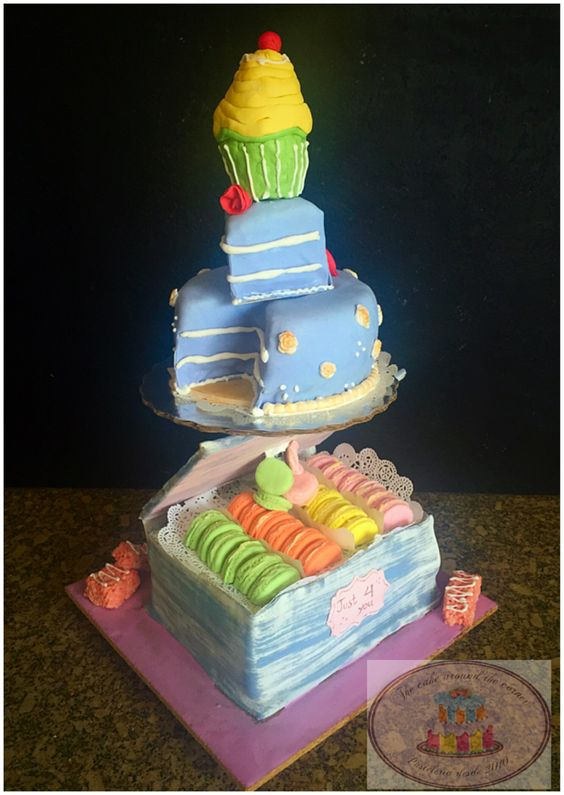 Sweet tower cake