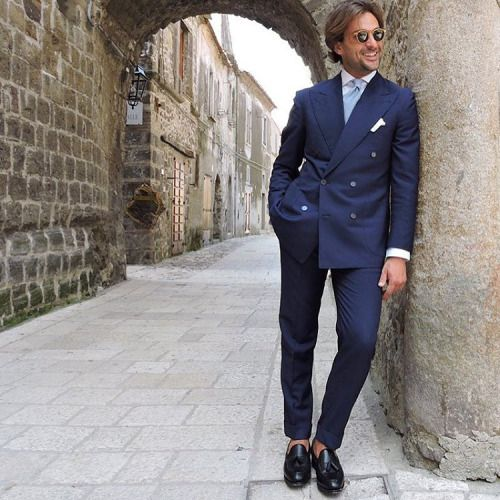 British Style — sprezzi:   This is one of the bespoke suits that i...