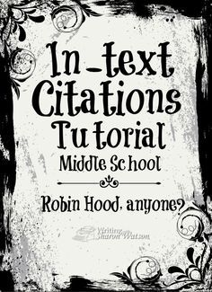 In text citation help?