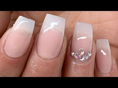 Tecnica Baby Boomer Con Tip Rapido Y Facil Youtube Manicure Nail Art Nails