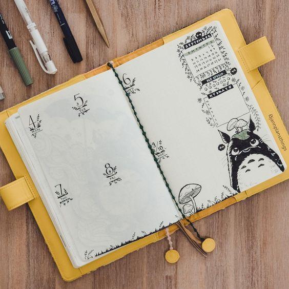 Bullet Journal Miyazaki