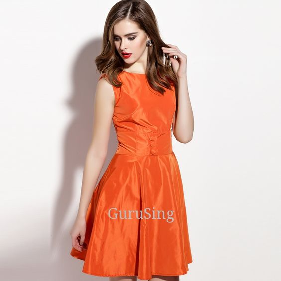 Product Name: LD2370 Button Detail Fit And Flare Dress Click On Link To View This Product : http://gurusing.sg/?post_type=product&p=13277. We Have Publish More Products And Special Offer Are Going On Our Website GuruSing. Hurry Enjoy Up To 80% Discounts......