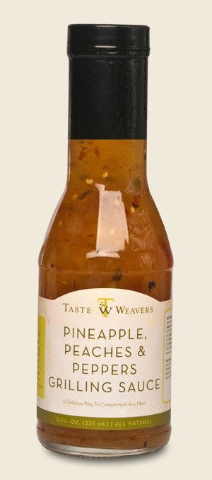 Pineapple Peaches & Peppers Grilling Sauce