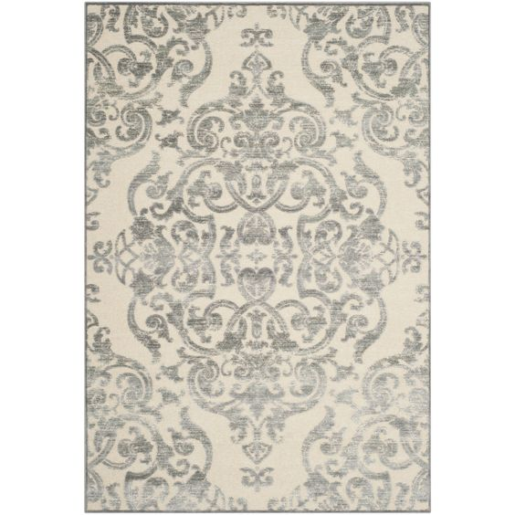 Paradise Grey / Multi Contemporary Area Rug
