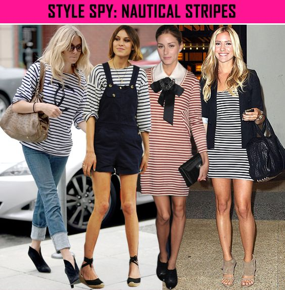 From January, 2010. Maybe I'm behind the times...but I think nautical stripes are classic. (See Coco Chanel)