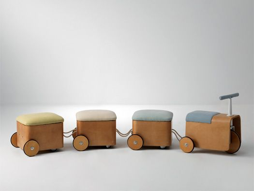 Protection Project Collection by Jaekyoung Kim and Hyunjin Seo have combined traditional Korean aesthetics with the notion of physical, and emotional, protection in a furniture collection for children....