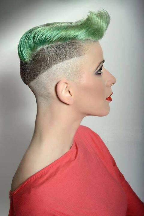 Galerry undercut hairstyle extreme